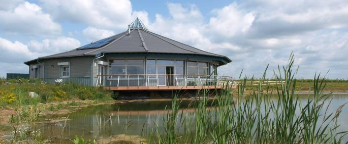 Abberton Reservoir visitor centre  -