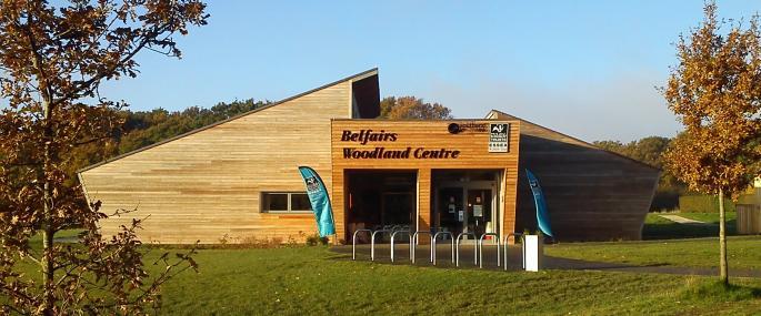Belfairs Woodland Centre Suffolk Wildlife Trust