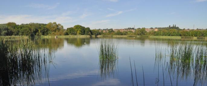 Irthlingborough Lakes and Meadows near Billing Aquadrome