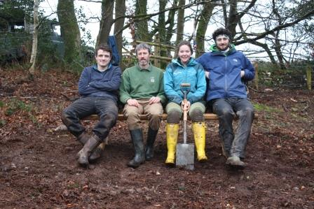 Biffa Award aupport has allowed us to provide a new bench at Ashculm Turbary